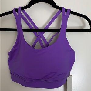 Lululemon energy bra - purple - size 8
